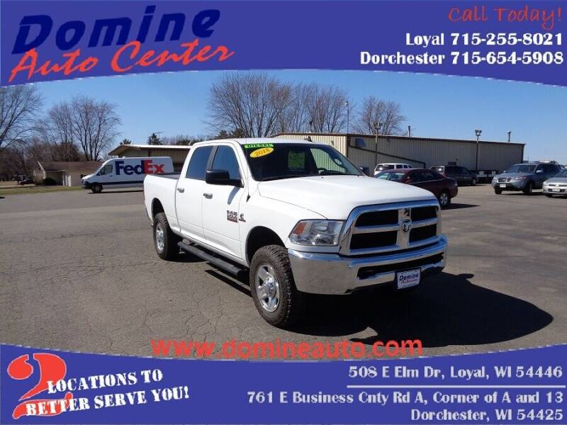 2018 RAM Ram Pickup 2500 for sale at Domine Auto Center in Loyal WI