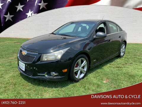 2012 Chevrolet Cruze for sale at Dawsons Auto & Cycle in Glen Burnie MD