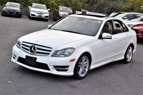 2013 Mercedes-Benz C-Class for sale at Automall Collection in Peabody MA