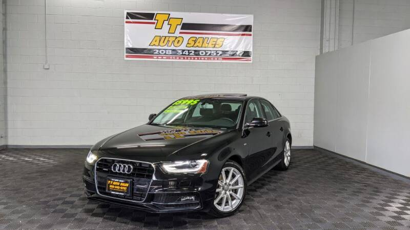 2016 Audi A4 for sale at TT Auto Sales LLC. in Boise ID