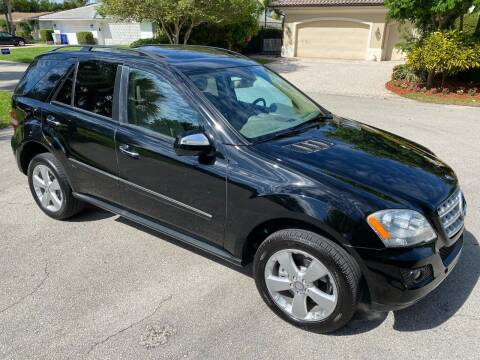 2009 Mercedes-Benz M-Class for sale at Exceed Auto Brokers in Pompano Beach FL