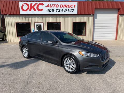 2015 Ford Fusion for sale at OKC Auto Direct in Oklahoma City OK