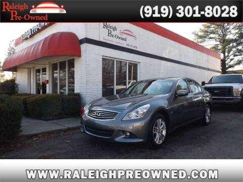 2015 Infiniti Q40 for sale at Raleigh Pre-Owned in Raleigh NC