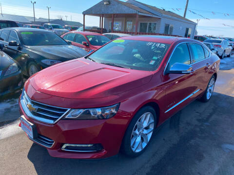 2014 Chevrolet Impala for sale at De Anda Auto Sales in South Sioux City NE
