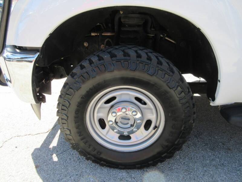 2012 Ford F-250 Super Duty 4x4 XL 4dr Crew Cab 8 ft. LB Pickup - Tyler TX
