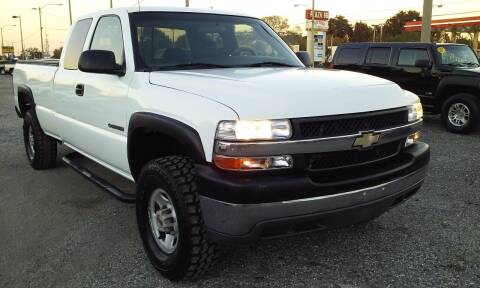 2001 Chevrolet Silverado 2500HD for sale at Pinellas Auto Brokers in Saint Petersburg FL