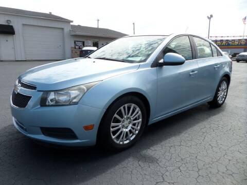 2011 Chevrolet Cruze for sale at Budget Corner in Fort Wayne IN