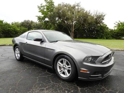 2014 Ford Mustang for sale at SUPER DEAL MOTORS in Hollywood FL