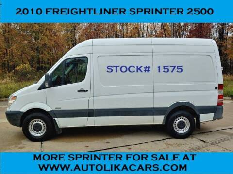 2010 Freightliner Sprinter Cargo for sale at Autolika Cars LLC in North Royalton OH