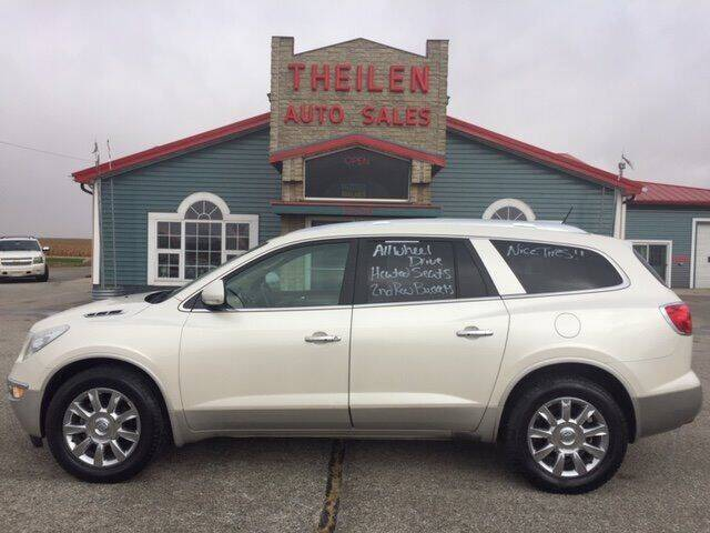 2011 Buick Enclave for sale at THEILEN AUTO SALES in Clear Lake IA