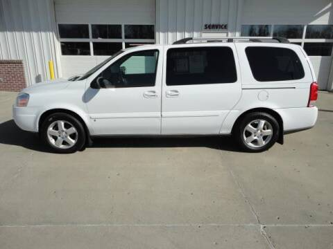 2008 Chevrolet Uplander for sale at Quality Motors Inc in Vermillion SD