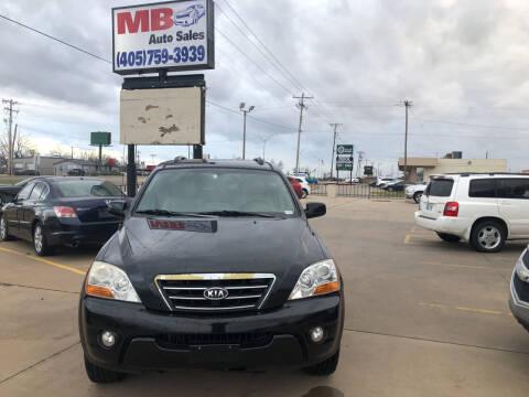 2008 Kia Sorento for sale at MB Auto Sales in Oklahoma City OK