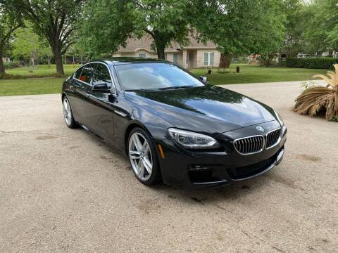 2013 BMW 6 Series for sale at CARWIN MOTORS in Katy TX