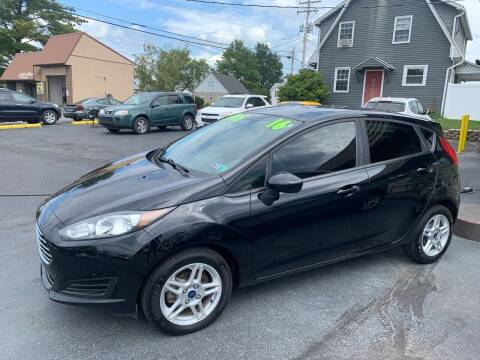2017 Ford Fiesta for sale at MAGNUM MOTORS in Reedsville PA