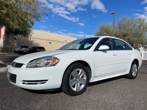 2011 Chevrolet Impala for sale at Tucson Auto Sales in Tucson AZ