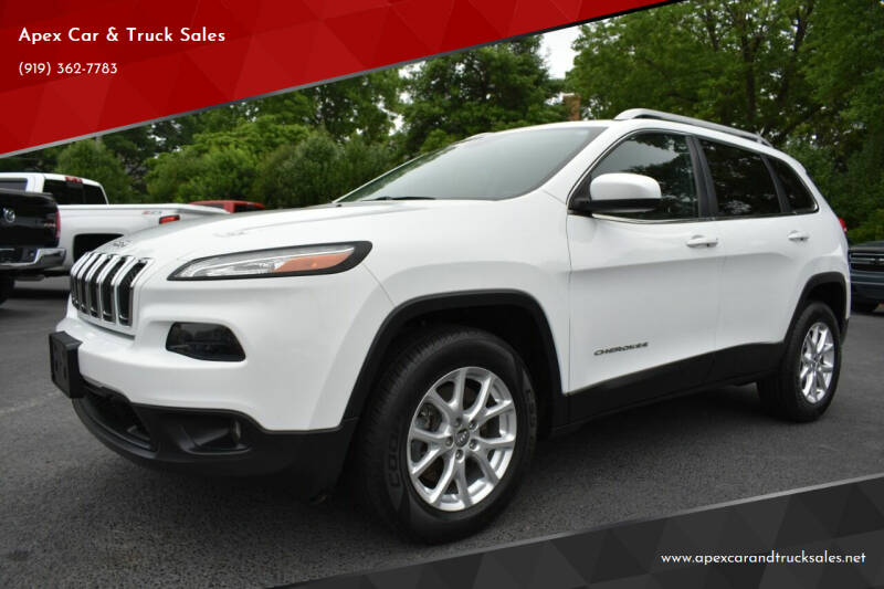 2014 Jeep Cherokee for sale at Apex Car & Truck Sales in Apex NC