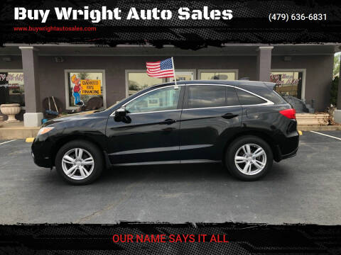 2014 Acura RDX for sale at Buy Wright Auto Sales in Rogers AR