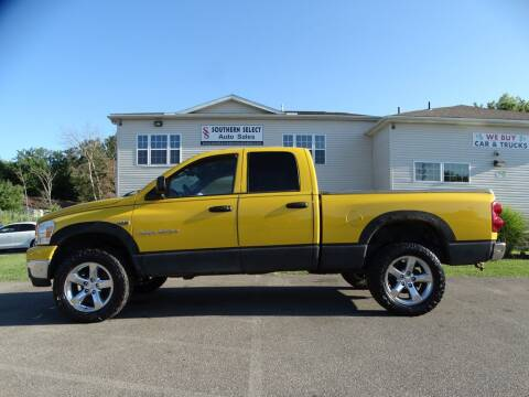 2007 Dodge Ram Pickup 1500 for sale at SOUTHERN SELECT AUTO SALES in Medina OH