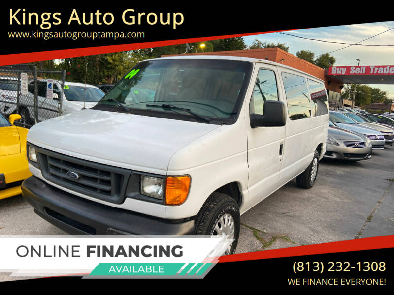 2004 Ford E-Series Wagon for sale at Kings Auto Group in Tampa FL