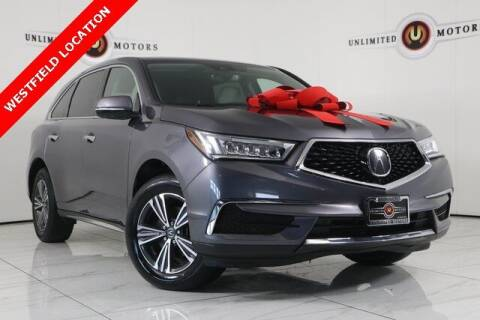 2018 Acura MDX for sale at INDY'S UNLIMITED MOTORS - UNLIMITED MOTORS in Westfield IN