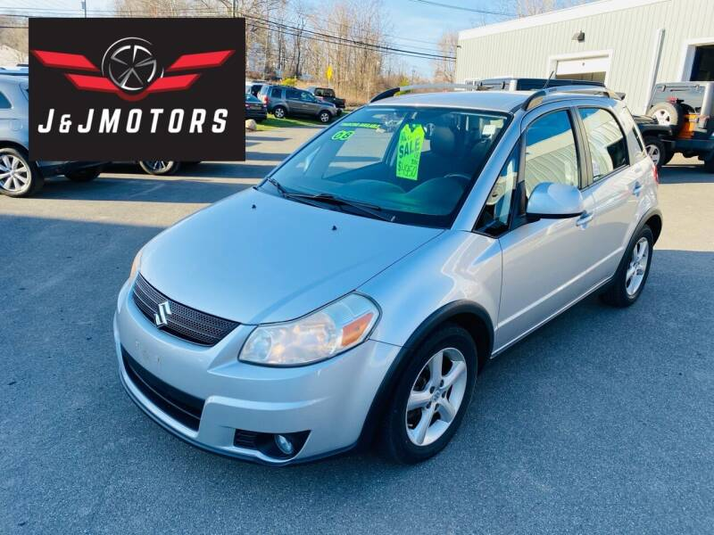 2008 Suzuki SX4 Crossover for sale at J & J MOTORS in New Milford CT