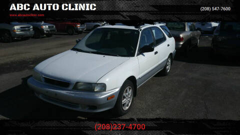 1998 Suzuki Esteem for sale at ABC AUTO CLINIC - Chubbuck in Chubbuck ID
