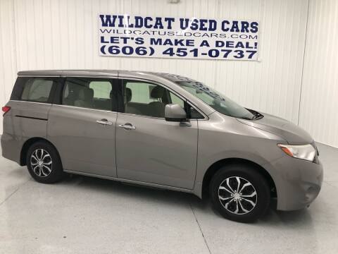 2013 Nissan Quest for sale at Wildcat Used Cars in Somerset KY