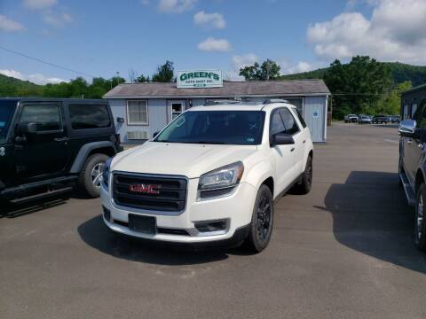 2015 GMC Acadia for sale at Greens Auto Mart Inc. in Wysox PA