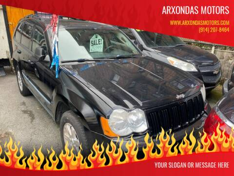 2008 Jeep Grand Cherokee for sale at ARXONDAS MOTORS in Yonkers NY