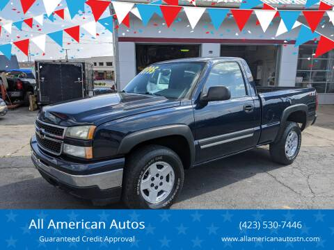 2006 Chevrolet Silverado 1500 for sale at All American Autos in Kingsport TN