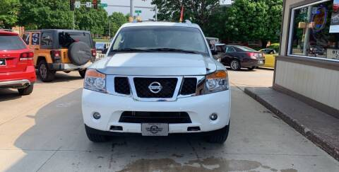2014 Nissan Armada for sale at Mulder Auto Tire and Lube in Orange City IA