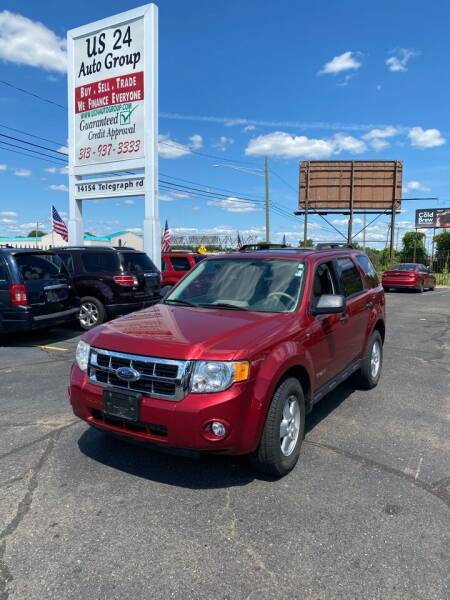 2008 Ford Escape for sale at US 24 Auto Group in Redford MI