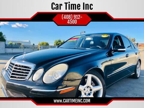 2009 Mercedes-Benz E-Class for sale at Car Time Inc in San Jose CA