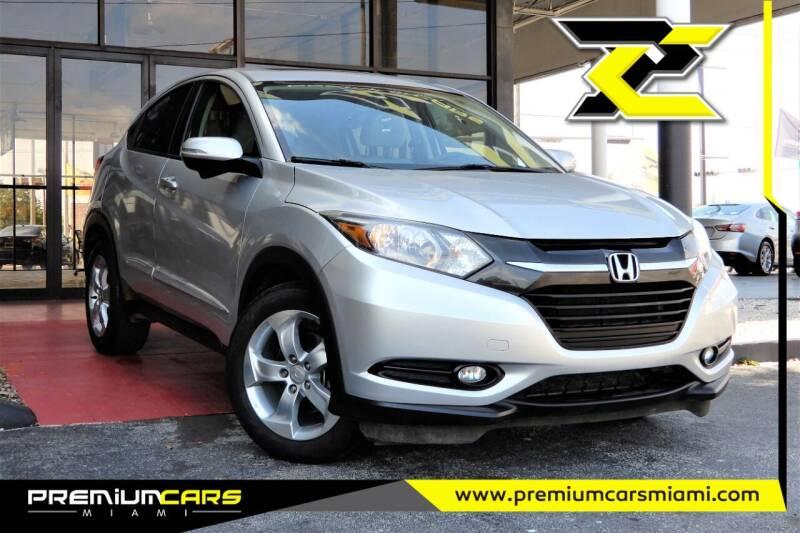 2016 Honda HR-V for sale at Premium Cars of Miami in Miami FL