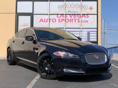 2012 Jaguar XF for sale at Las Vegas Auto Sports in Las Vegas NV