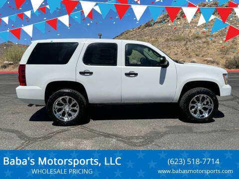 2012 Chevrolet Tahoe for sale at Baba's Motorsports, LLC in Phoenix AZ