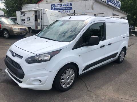 2015 Ford Transit Connect Cargo for sale at PA Auto World in Levittown PA