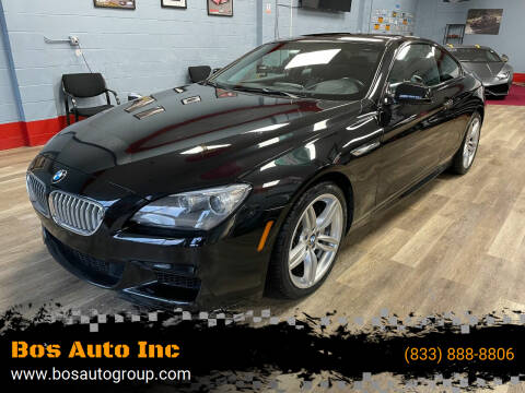 2015 BMW 6 Series for sale at Bos Auto Inc in Quincy MA