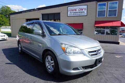 2006 Honda Odyssey for sale at I-Deal Cars LLC in York PA