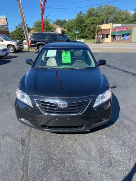 2007 Toyota Camry for sale at North Hill Auto Sales in Akron OH