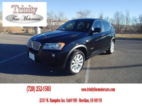 2013 BMW X3 for sale at TRINITY FINE MOTORCARS in Sheridan CO