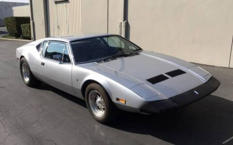 1973 De Tomaso Pantera for sale at Star One Imports in Santa Clara CA