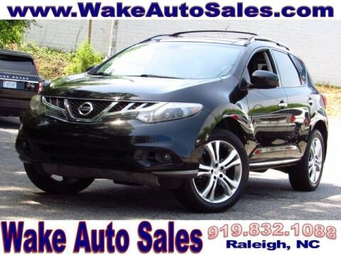 2011 Nissan Murano for sale at Wake Auto Sales Inc in Raleigh NC