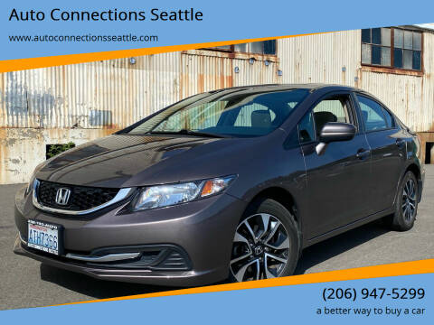 2015 Honda Civic for sale at Auto Connections Seattle in Seattle WA