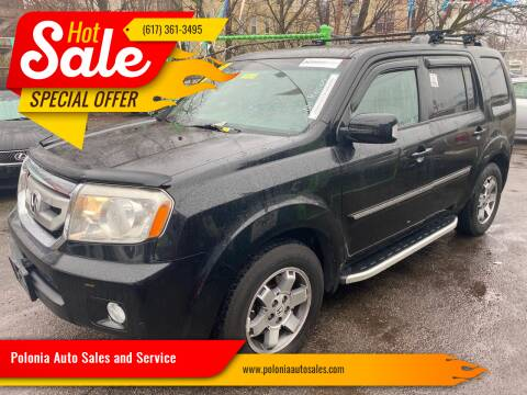 2011 Honda Pilot for sale at Polonia Auto Sales and Service in Hyde Park MA
