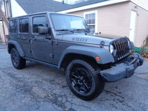 2014 Jeep Wrangler Unlimited for sale at Liberty Motors in Chesapeake VA