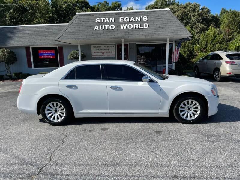 2013 Chrysler 300 for sale at STAN EGAN'S AUTO WORLD, INC. in Greer SC