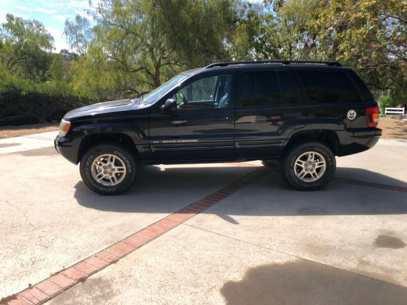2004 Jeep Grand Cherokee for sale at HIGH-LINE MOTOR SPORTS in Brea CA