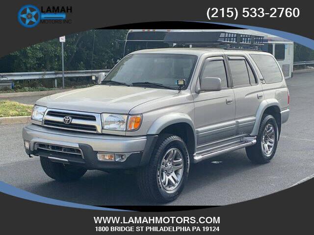1999 Toyota 4Runner for sale at LAMAH MOTORS INC in Philadelphia PA