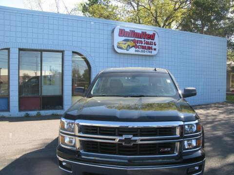 2014 Chevrolet Silverado 1500 for sale at Unlimited Auto Sales & Detailing, LLC in Windsor Locks CT